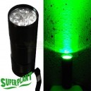 SUPERPLANT LAMPE TORCHE LED VERTE