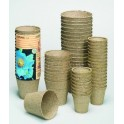 POTS BIODEGRADABLES 6 CM RONDS