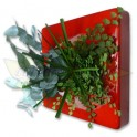 FB STABILISE CARRE VEGETAL 25X25 ROUGE / FOUGERE